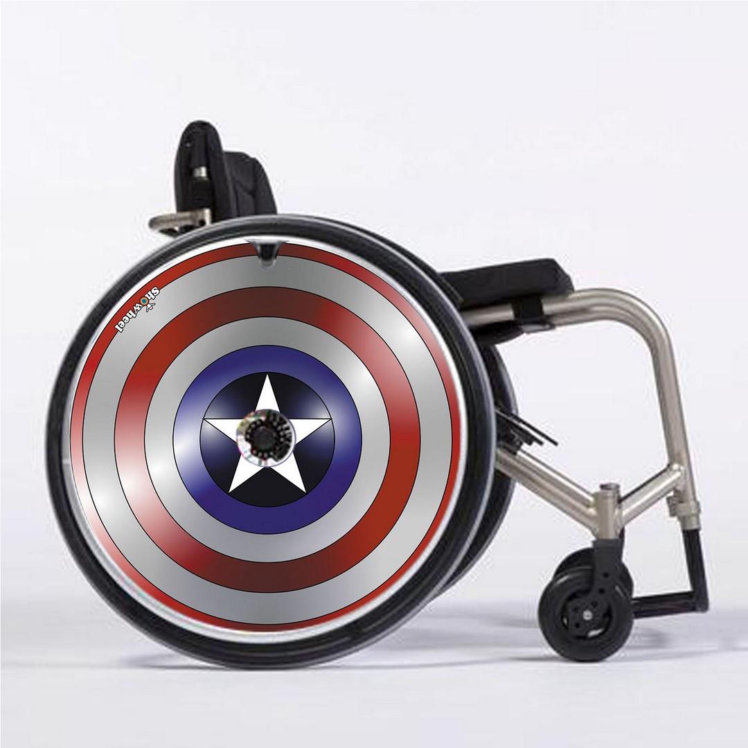 Flasques d\'occasion pour roues de fauteuil roulant