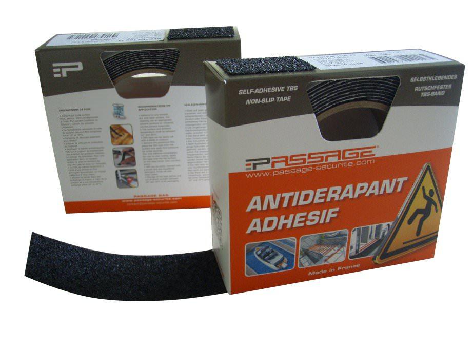 bande antid rapante adh sive paisseur 10 mm pour application sur rampe d 39 acc s ou seuil de porte. Black Bedroom Furniture Sets. Home Design Ideas