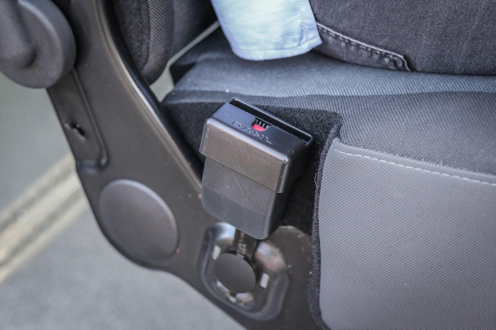 Cache boucle de ceinture de sécurité