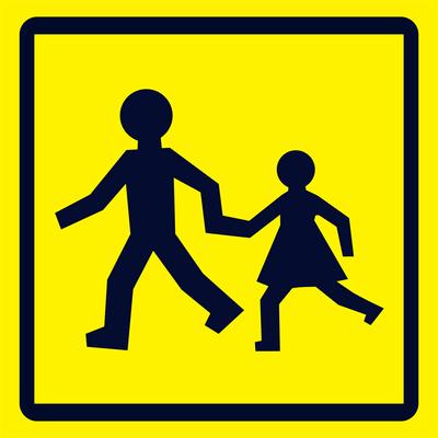 Autocollant transport scolaire