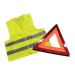 Kit de sécurité triangle + gilet
