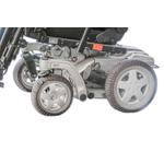 Chaussettes pour roues de fauteuil roulant électrique