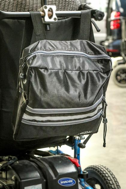 sac pour dossier de fauteuil roulant pour personne handicap 233 e
