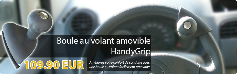 Boule au volant amovible HandyGrip