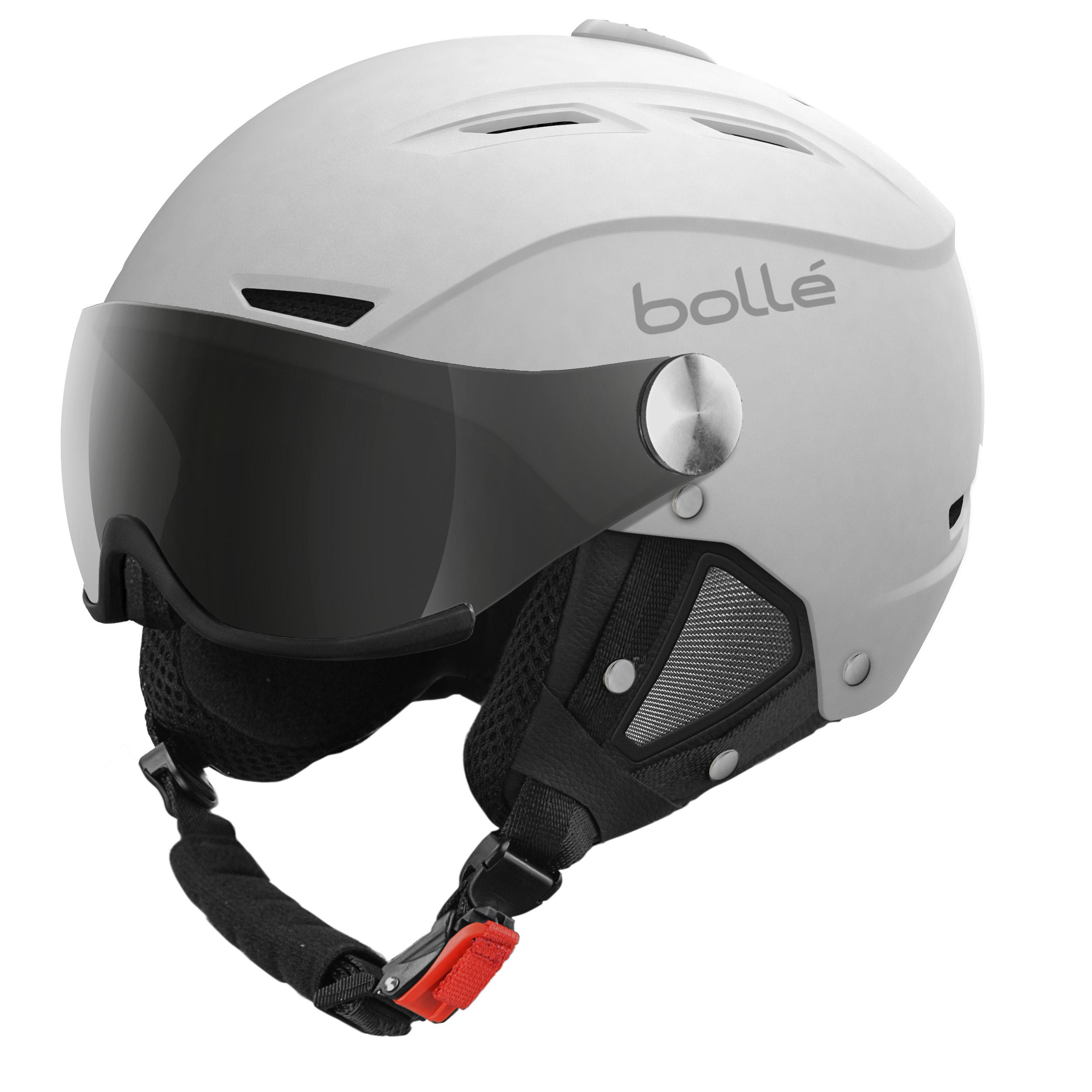 Casque De Ski Bollé Backline Visor Blanc Cat 3 1 Masques