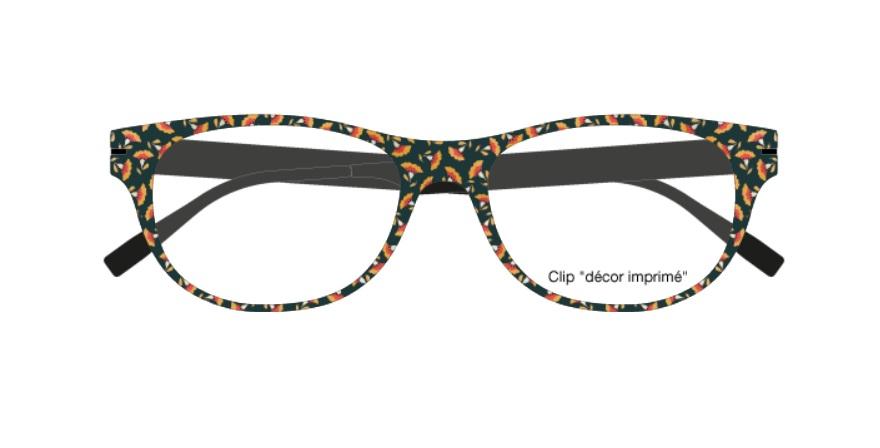 eae607d5f525e3 Clips Face   Cie - CIE 11 - SAN - Season - Lunettes Zenka Clips Face   Cie  - Acheter-Lunettes.com