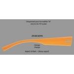 """Branches Dilem pour modèles """"M"""" ZG025 - Orange"""