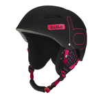 + Taille 58-61cm - Casque de ski Bollé - B-Style - Soft Black & Pink