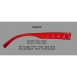 "Branches Dilem ""ZI""Aspect Brillant ZI007 - Grenadine"