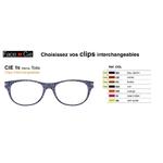 Clips Face & Cie - CIE 16 - Thème Toile
