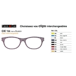 Clips Face & Cie - CIE 126 - Thème Illusion