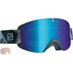 Masques de ski Salomon - X-View - L368005 - Blue Multilayer - Cat.3 + 1