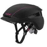 + Taille 54-58cm - Casque Cyclisme - Messenger - Noir et Rose
