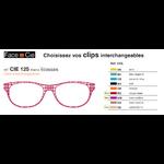 Clips Face & Cie - CIE 125 - Thème Ecossais