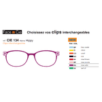 Clips Face & Cie - CIE 134 - Thème Hippy