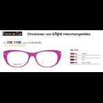 Clips Face & Cie - CIE 110E - Thème Empreinte