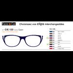 Clips Face & Cie - CIE 120 - Thème Open