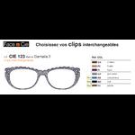 Clips Face & Cie - CIE 123 - Thème Dentelle