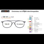 Clips Face & Cie - CIE 131 - Thème Spirit
