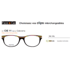 Clips Face & Cie - CIE 11 Colorama - Bayadère multicolor