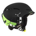 Casque de ski Cébé - Dusk - Noir mat et vert