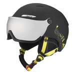 PO - Casque de ski Bollé - B-Yong Visor - Noir et Jaune - Cat.3