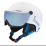 PO - Casque de ski Bollé - B-Yong Visor - Blanc et bleu - Cat.3
