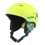 + Taille 49-53cm - Casque de ski Bollé - B-Free - Jaune fluo
