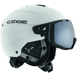 Casque de ski Cébé - Element Visor - Blanc - Cat.3 + Cat.1