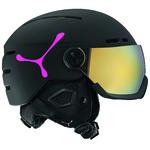 Casque de ski Cébé - Fireball - Noir et Rose - Cat.3 + Cat.1