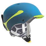 + Taille 53-57cm - Casque de ski Cébé - Contest Visor Pro - Bleu Cyan