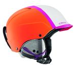 Casque de ski Cébé - Contest Visor Pro - Orange et Rose