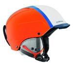 Casque de ski Cébé - Contest Visor Pro - Orange et Bleu