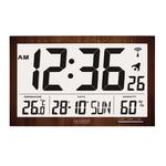 Horloge - WS8007 - Bois