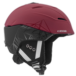 Casque de ski Cébé - Atmosphere 2.0 - Noir et Rouge