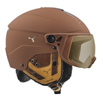 + Casque de ski Cébé - Element Visor - Marron - Cat.1 à 3