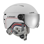Casque de ski cébé - Fireball Junior Blanc - Cat 3