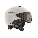 Casque de ski Cébé - Element Visor - Blanc - Variochrom Cat.1 à 3