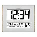 Horloge - WS8020 - Blanc Wood