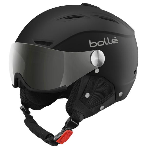 Casque De Ski Bollé Backline Visor Noir Et Argent Cat 3 1