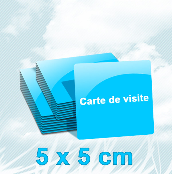 Cartes De Visite Carrees