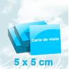 Cartes de visite carrées 300g/m2