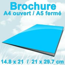 Brochures A4ouvert A5F