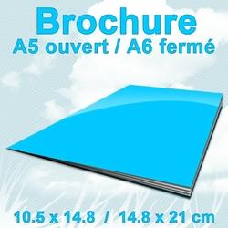Brochures A5ouvert A6F