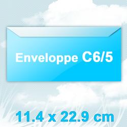 enveloppeC65&Fenêtre