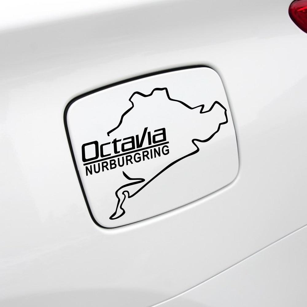 Autocollants réfléchissants Octavia Nurburgring