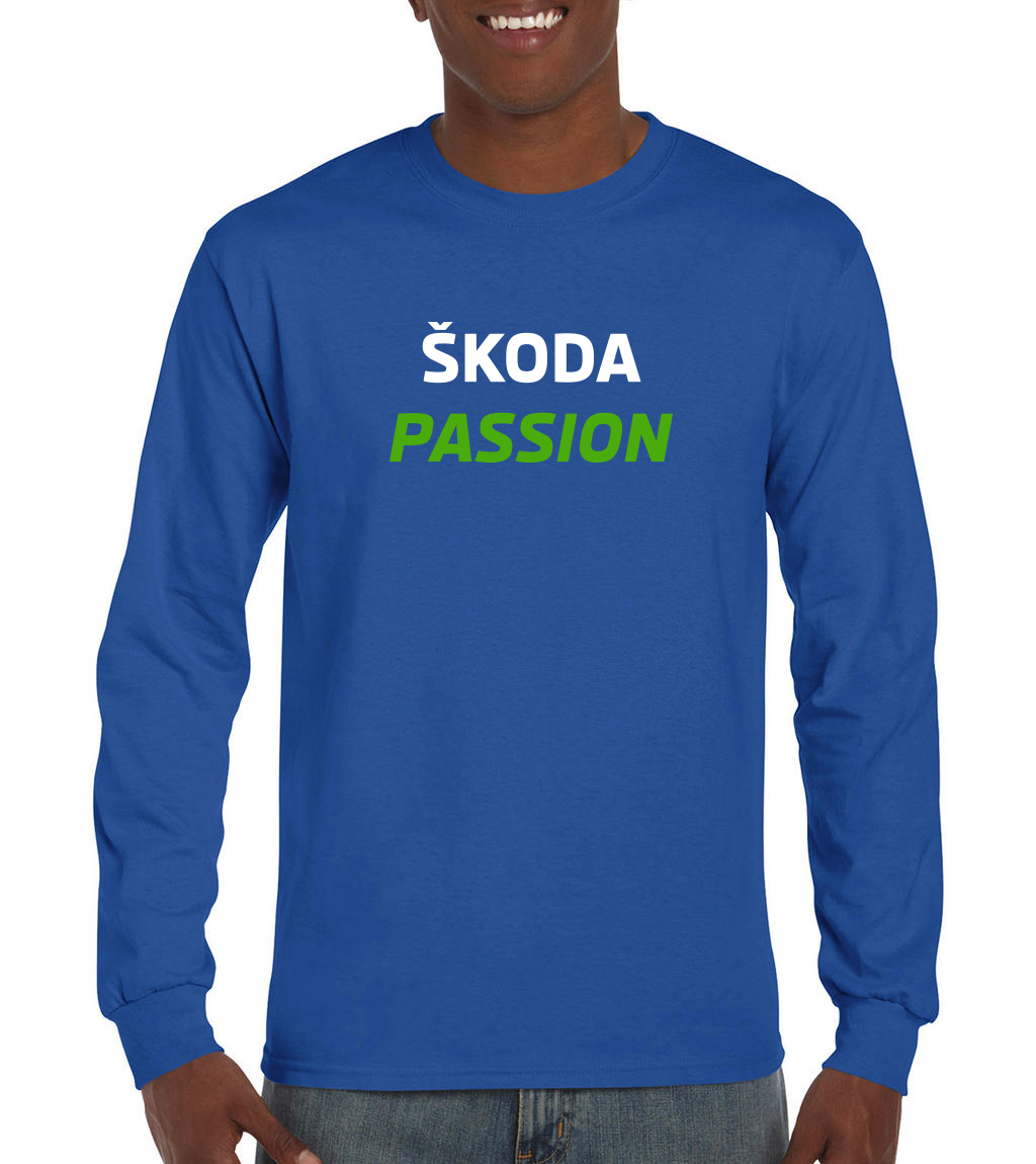 T-shirt manches longues Homme Skoda PASSION