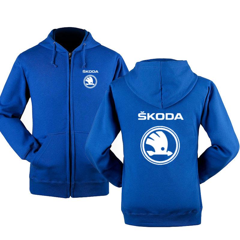 Sweat à capuche Skoda Auto