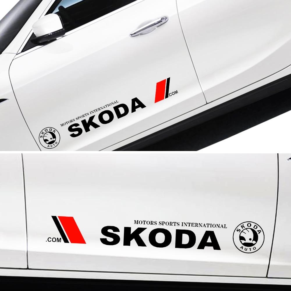 Sticker pour carrosserie Skoda Motorsport International