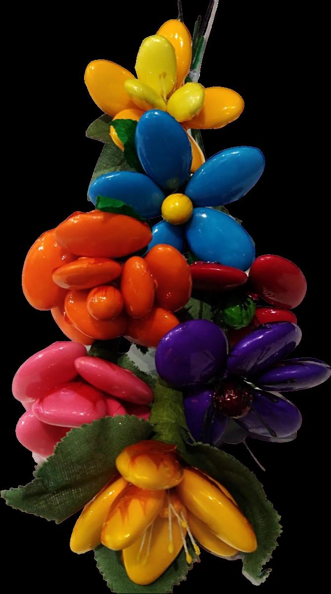 Bouquet intemporel en dragées chocolat